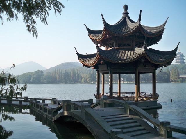 Monumento sul mare di Hangzhou