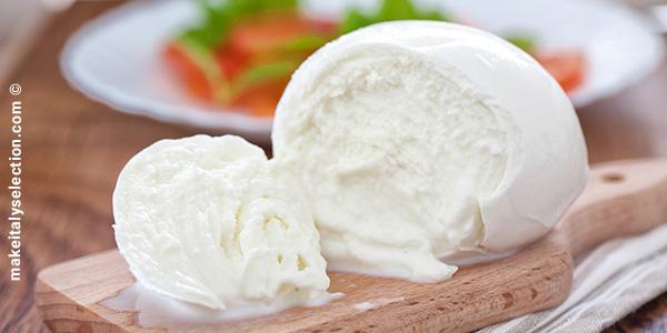 Mozzarella, chiave per esportare latte in Cina