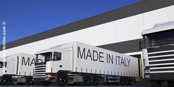 L'export italiano: su al nord, giù al sud